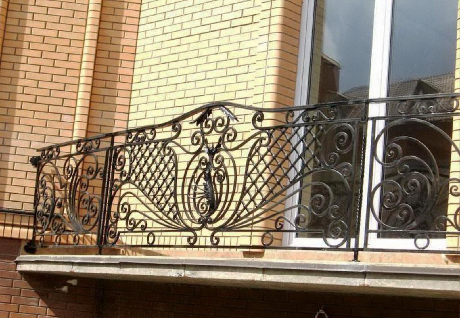 Кованые балконные ограждения. - дизайн маленьких лоджий - ка.
