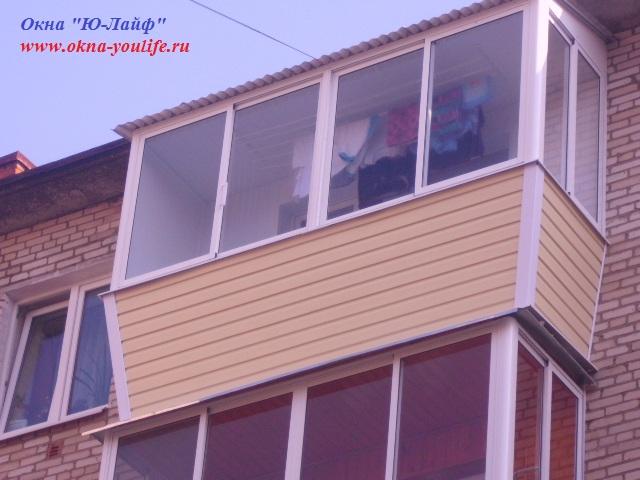 Остекление и отделка балконов и лоджий. окна пвх. - строител.